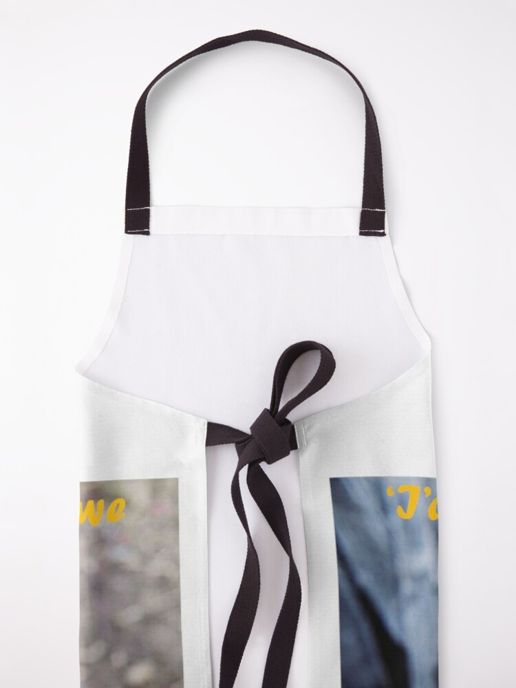 Alternate view of Missing You Apron