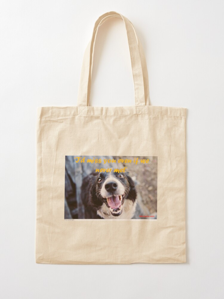 Alternate view of Missing You Tote Bag