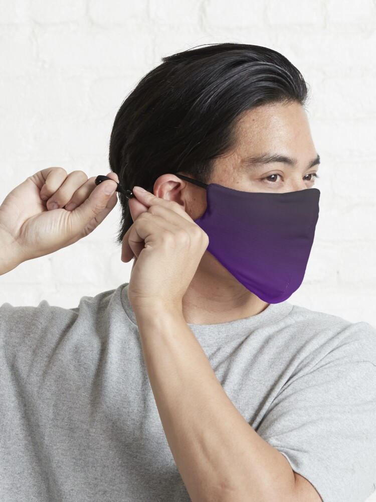 Alternate view of Ombre Purple Mask