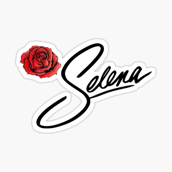 Selena Quintanilla Como La Flor Music Song Pegatina