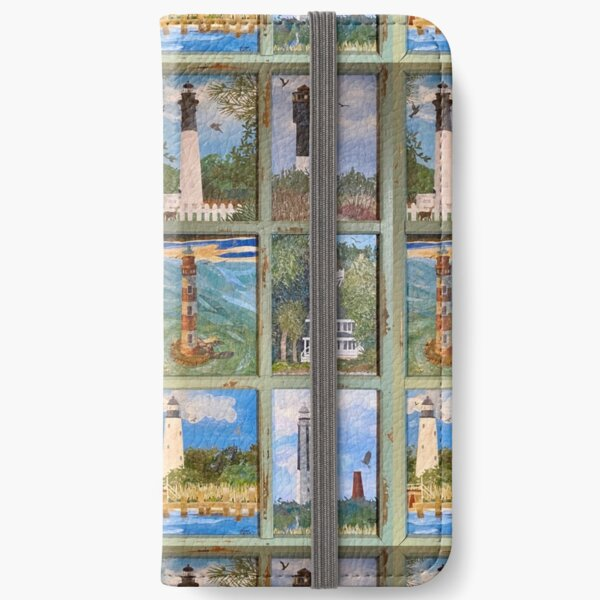 SC Lighthouses iPhone Wallet