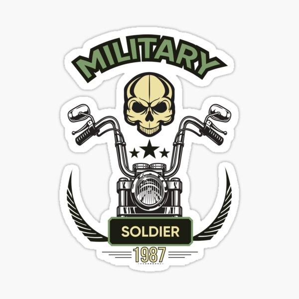 Soldier design Sticker