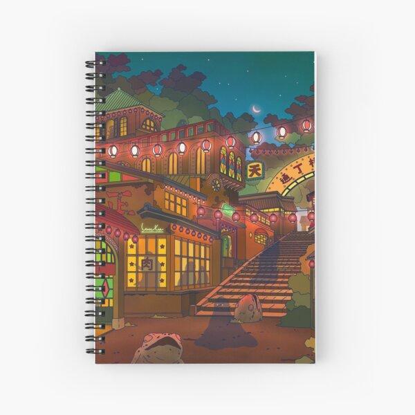 Village Of Ghosts Spiral Notebook