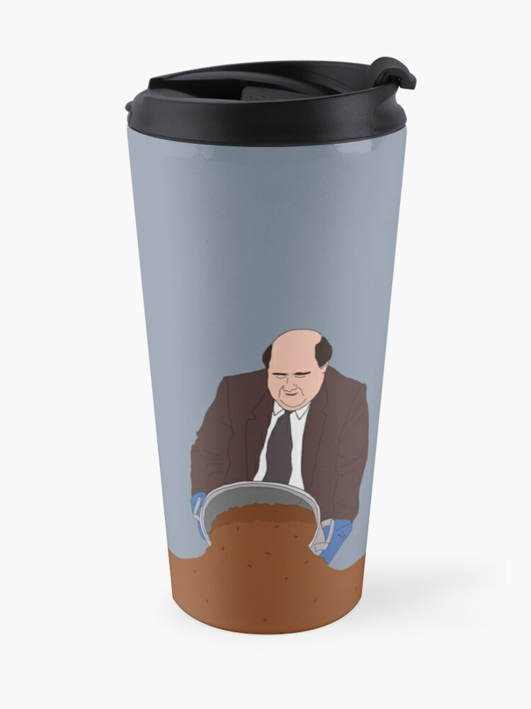 Alternate view of Kevin's famous chili Travel Mug
