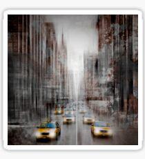 City-Art NYC 5th Avenue Traffic Sticker