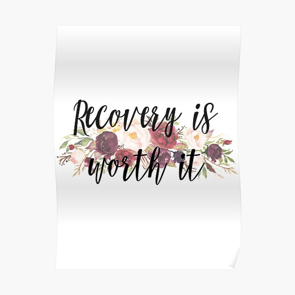 Recovery Motivation Design Poster