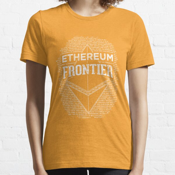 Ethereum Frontier (orange) Essential T-Shirt