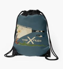 The X-Files Drawstring Bag