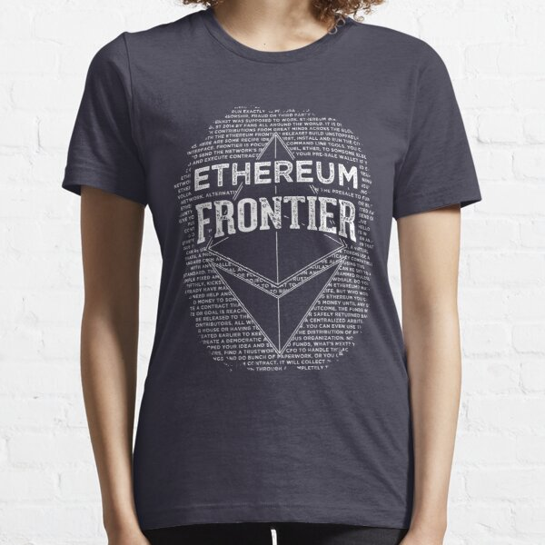 Ethereum Frontier (blue base) Essential T-Shirt