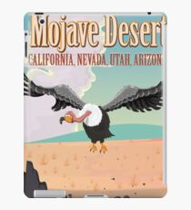 Mojave Desert cartoon vacation poste iPad Case/Skin