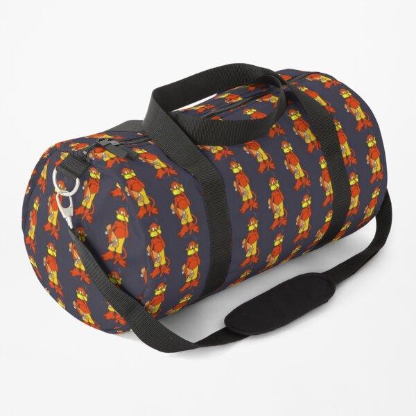 Board/Bored Skateboard Monkey Nose Pick Design Duffle Bag