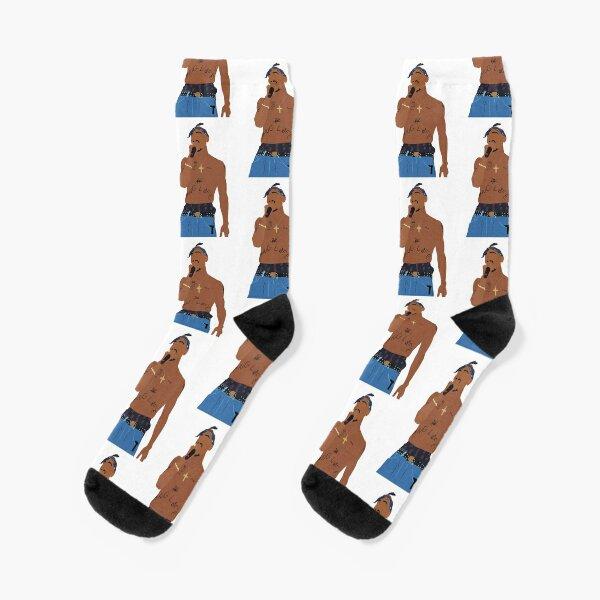 Tupac Rapper Thug Life Socks