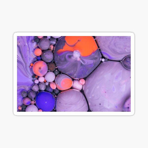 Bubbles Art Akim Sticker
