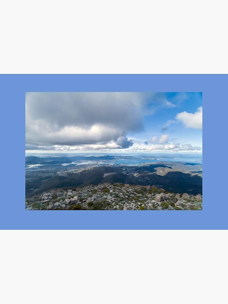 Mt. Wellington Lookout, Hobart, Tasmania, Australia by decoaddict