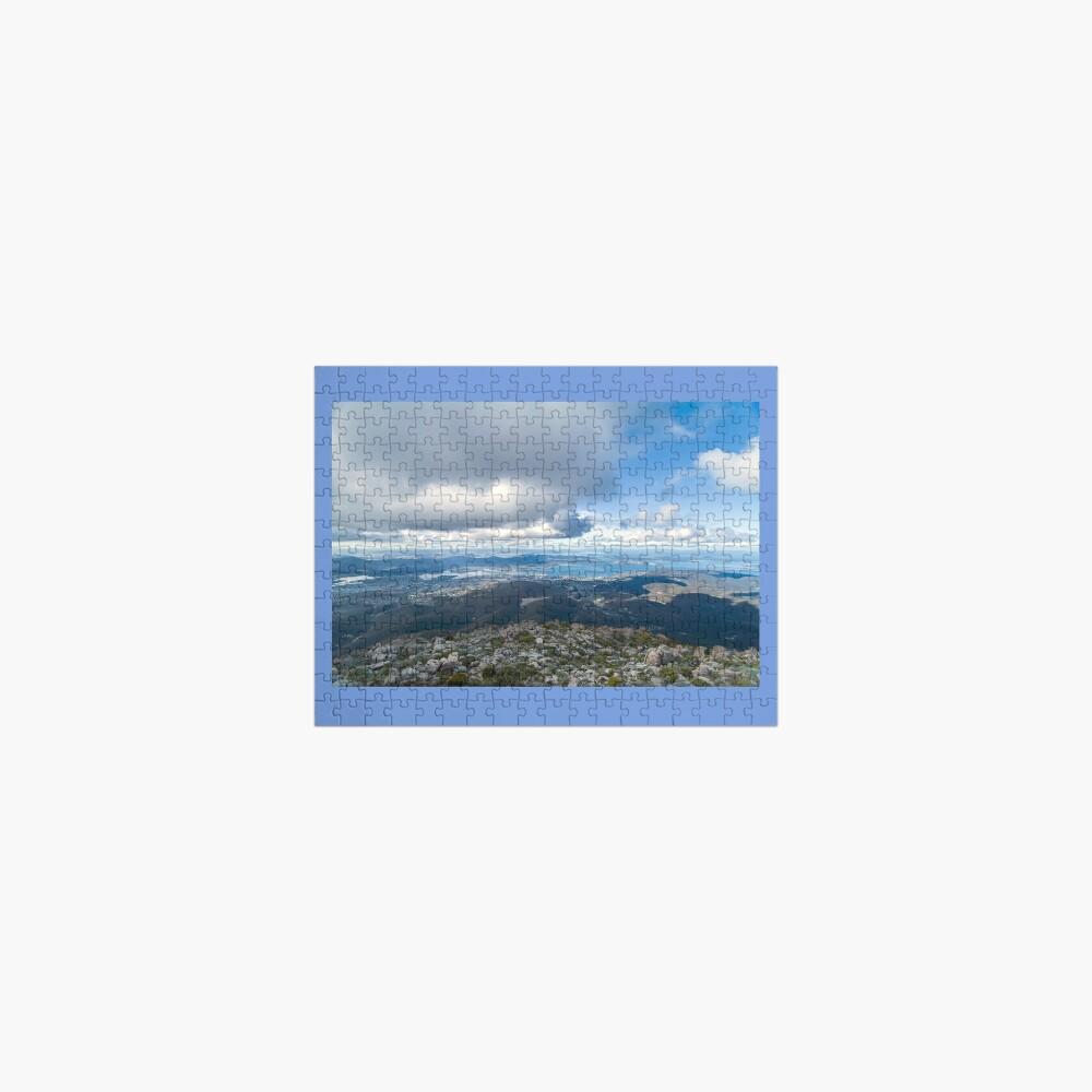 Mt. Wellington Lookout, Hobart, Tasmania, Australia Jigsaw Puzzle