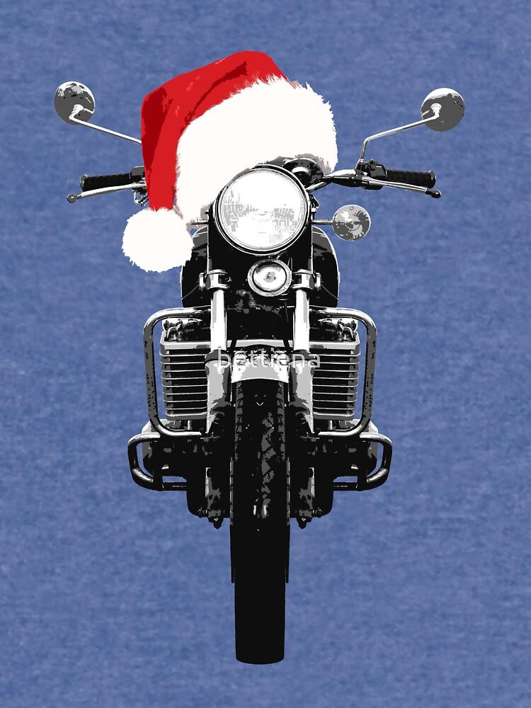 Suzuki GT750 Christmas by bettiena