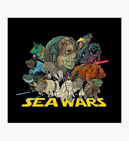 SEA WARS! Photographic Print