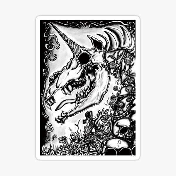My little Boney, Absurd Art Sticker