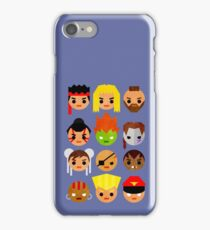 Street Fighter 2 Mini iPhone Case/Skin