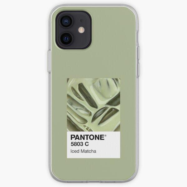 Matcha helado Pantone Funda blanda para iPhone