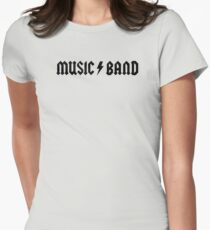MUSIC / BAND - 30 Rock - Music Band Womens Fitted T-Shirt