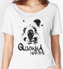 Quokka Inside Women's Relaxed Fit T-Shirt