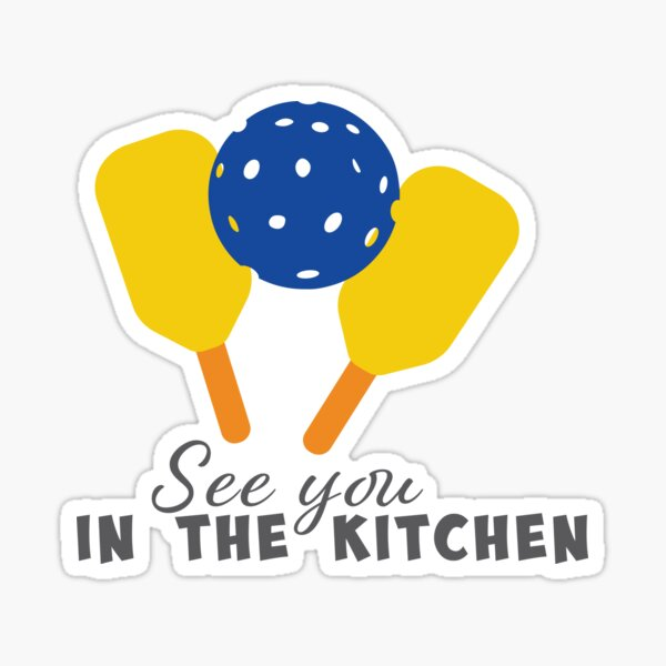 See you in the kitchen -   Sticker