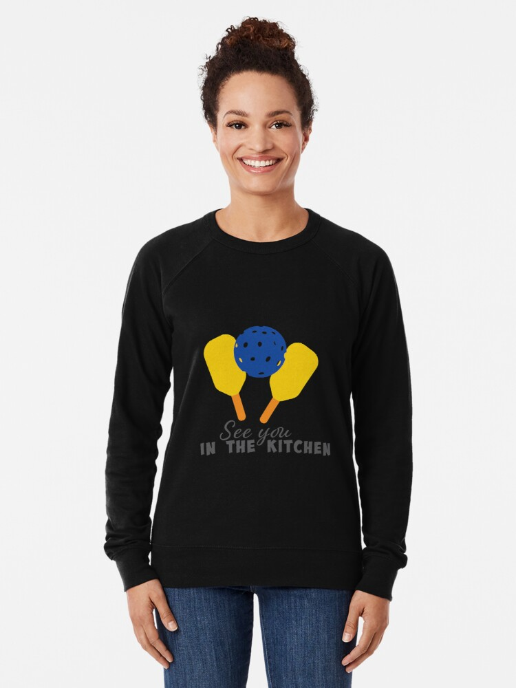 Alternate view of See you in the kitchen -   Lightweight Sweatshirt