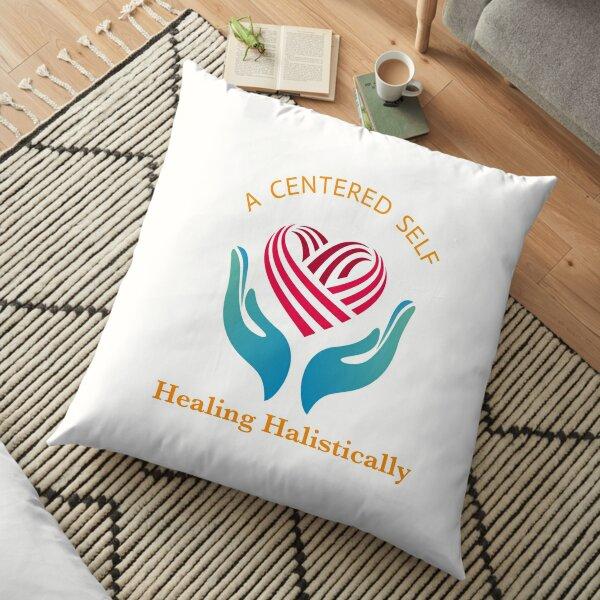 A CENTERED SELF  Floor Pillow