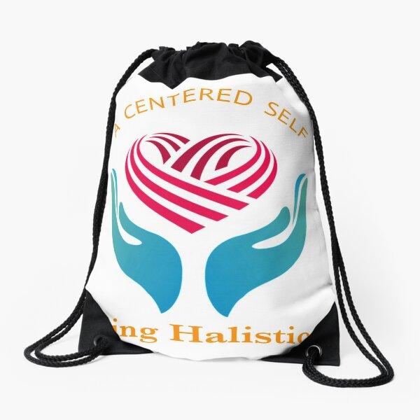 A CENTERED SELF  Drawstring Bag
