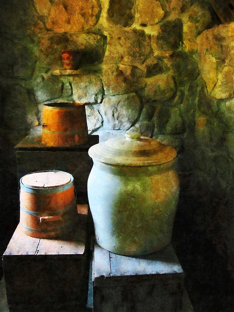 Ginger Jars and Buckets by Susan Savad