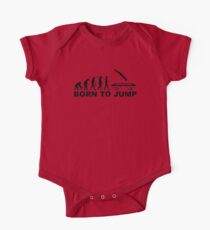 Evolution born to jump trampoline One Piece - Short Sleeve