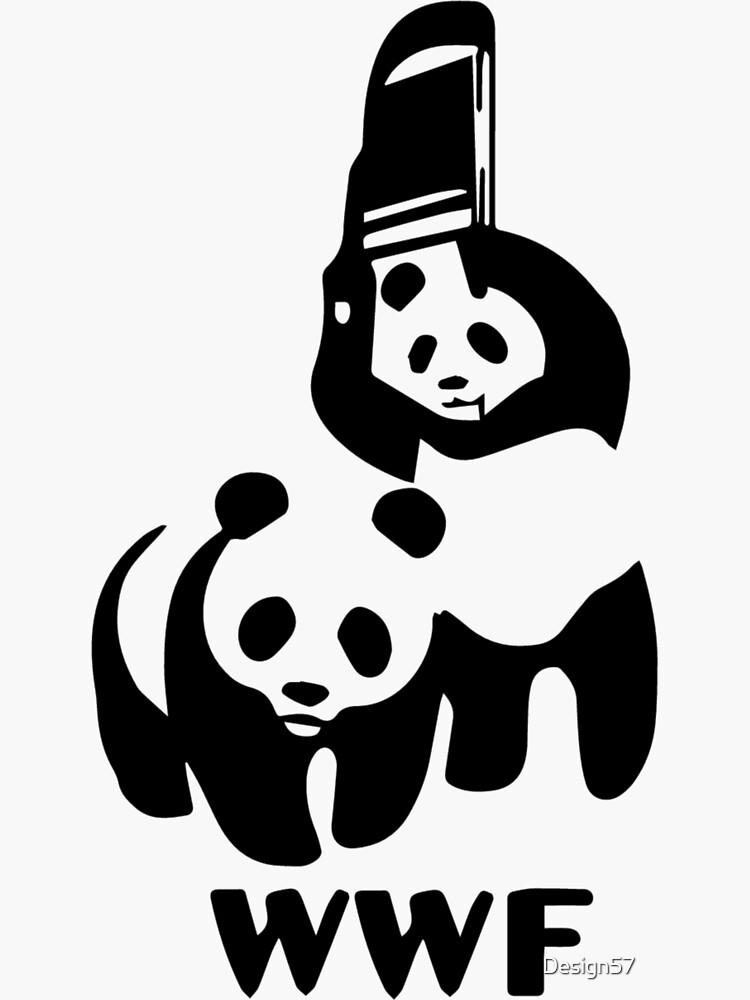 Panda Wrestling by Design57