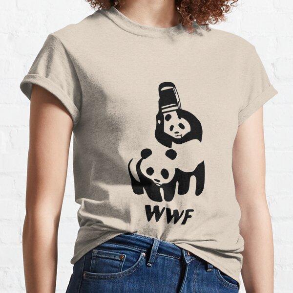 Panda Wrestling Classic T-Shirt