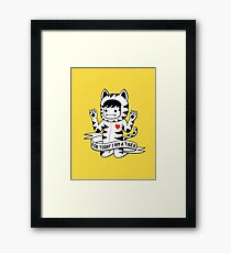 For today I am a tiger Framed Print