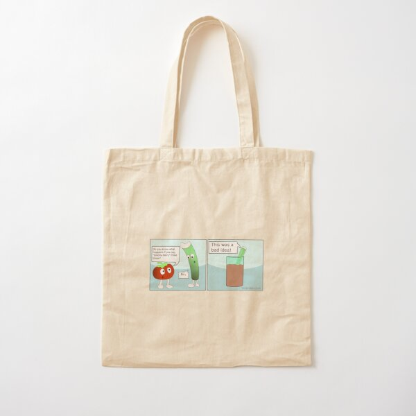 Bloody Mary Cotton Tote Bag