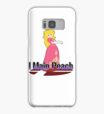 I Main Peach - Super Smash Bros Melee Samsung Galaxy Case/Skin