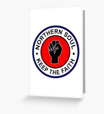 Northern Soul Greeting Card