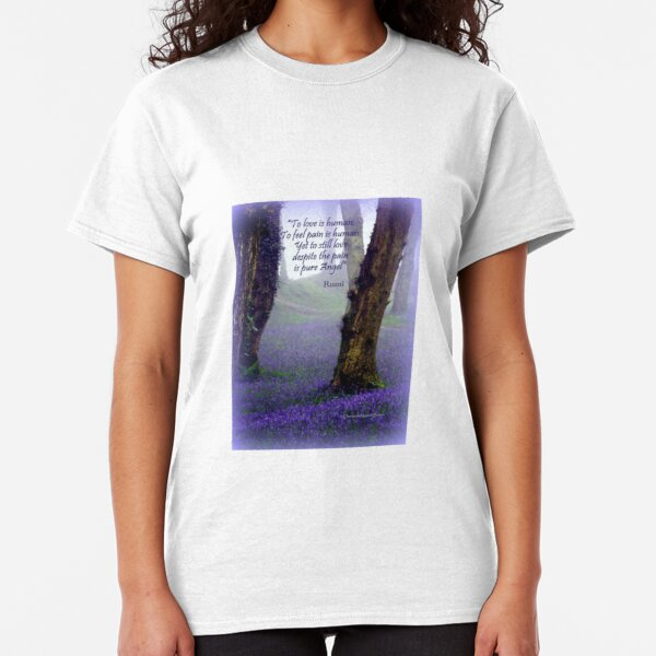 Bluebells and Rumi Classic T-Shirt