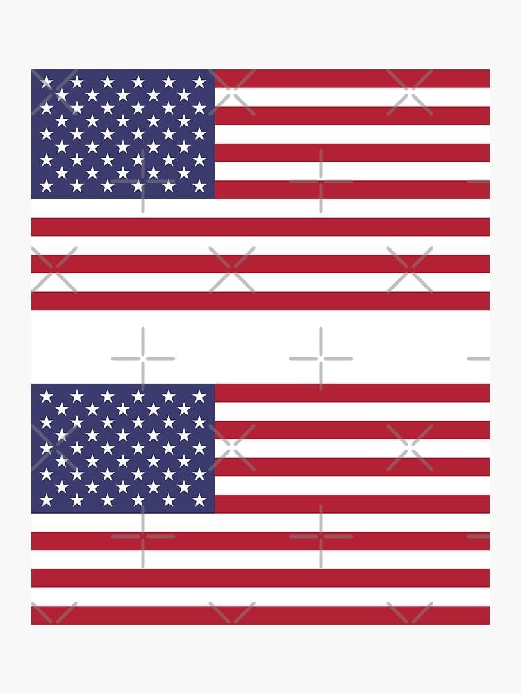 Bandera de Estados Unidos × 2 de states