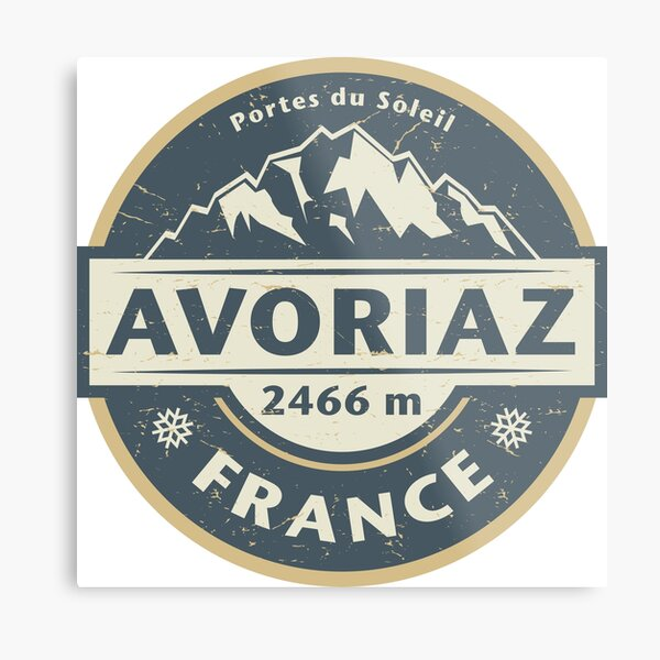 Avoriaz, France Metal Print