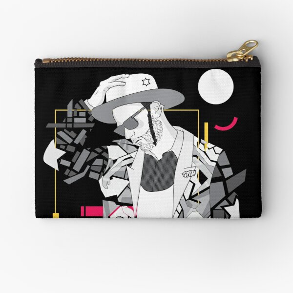Think - Jewish Pop Art Zipper Pouch