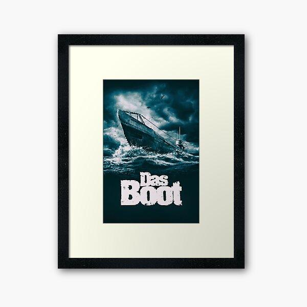 Das Boot 1981 Lámina enmarcada
