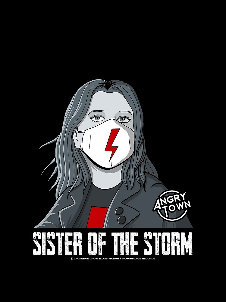 ANGRY TOWN - SISTER OF THE STORM (STRAJK KOBIET) by angrytownmerch