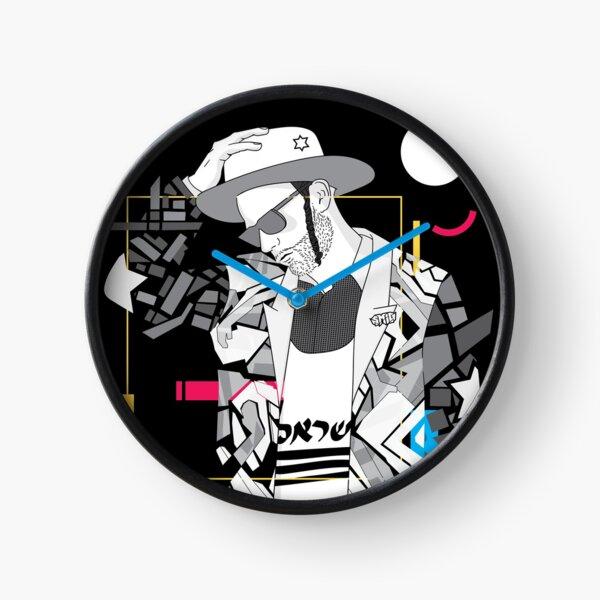 Think - Jewish Pop Art Clock