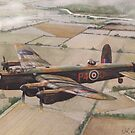 Lancaster over Lincolnshire by JohnLowerson
