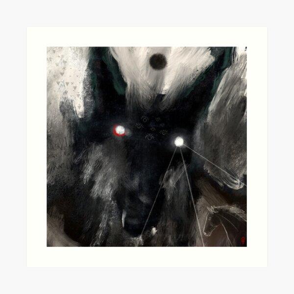 þerscwalda - Gods of Thresholds & Travel... Art Print