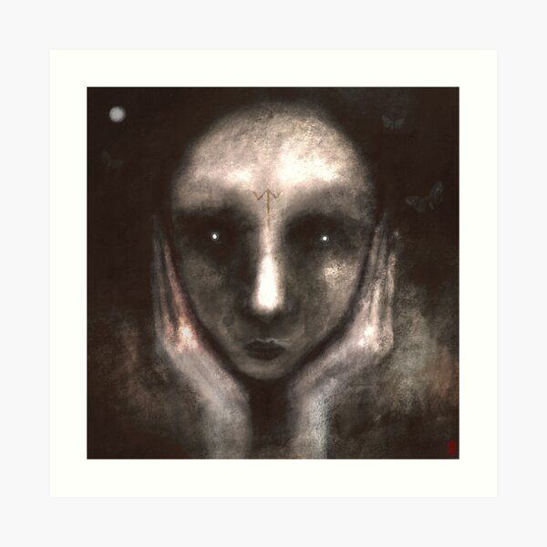 Hyngraþgast - Hungry Spirits Art Print