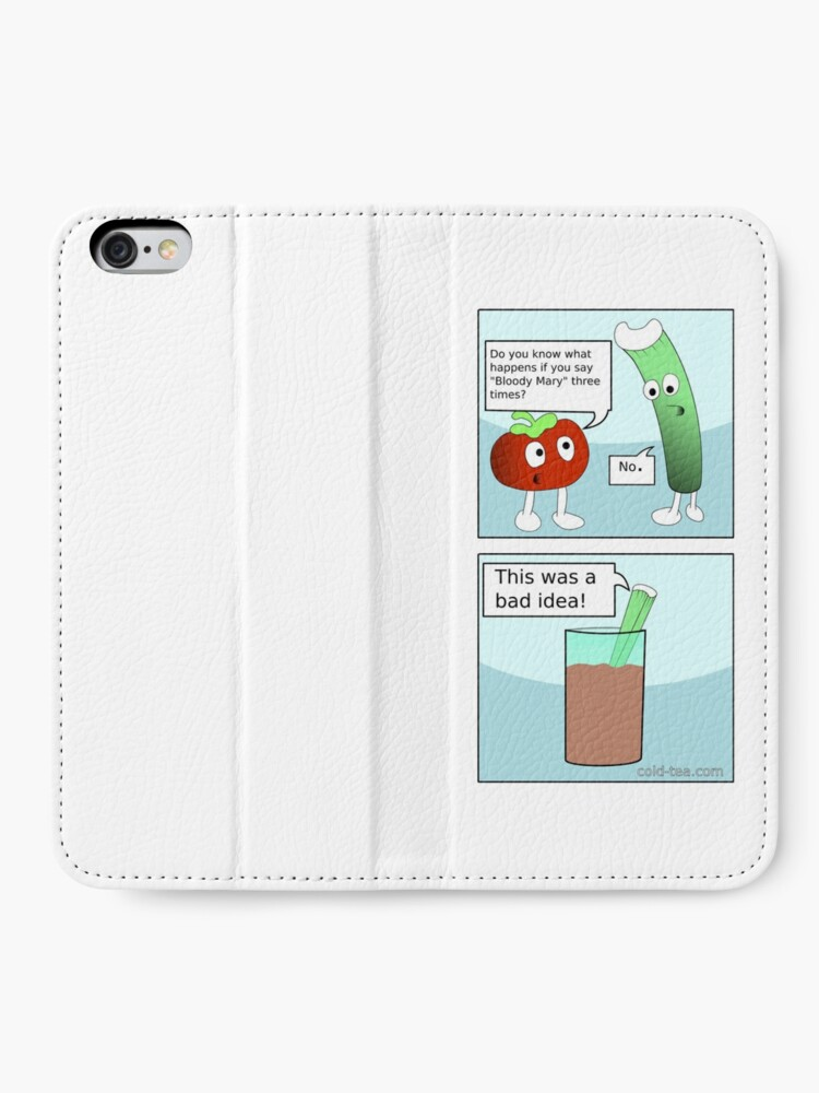 Alternate view of Bloody Mary iPhone Wallet