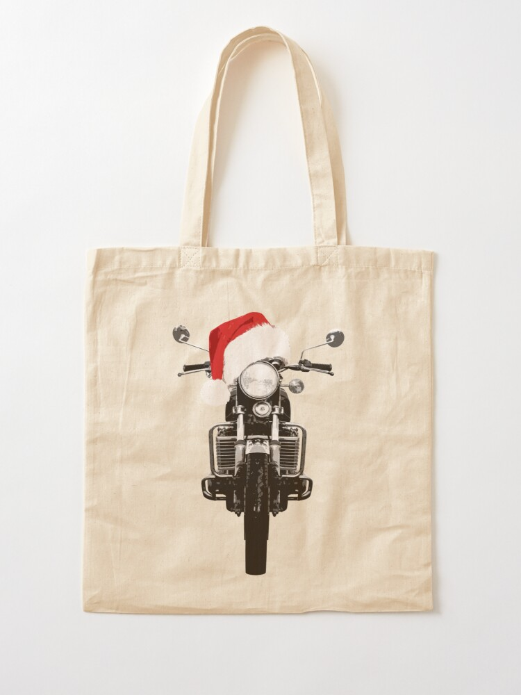 Alternate view of Suzuki GT750 Christmas Tote Bag